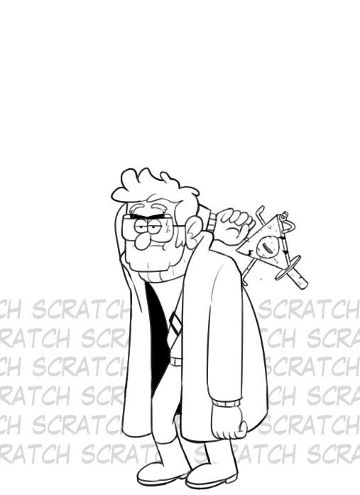 Месть Форда Месть, Gravity Falls, Гифка, Длиннопост, Комиксы, Bill Cipher, Stanford Pines
