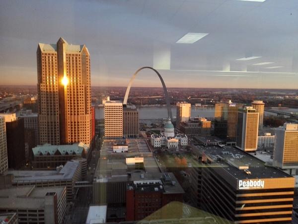 Вид из окна моего нынешнего офиса Америка, Командировка, Вид из окна, ATnT
