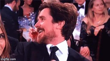 Когда ты все время шутил про то, что Лео Ди Каприо никогда не получит оскара, а он вдруг получил!