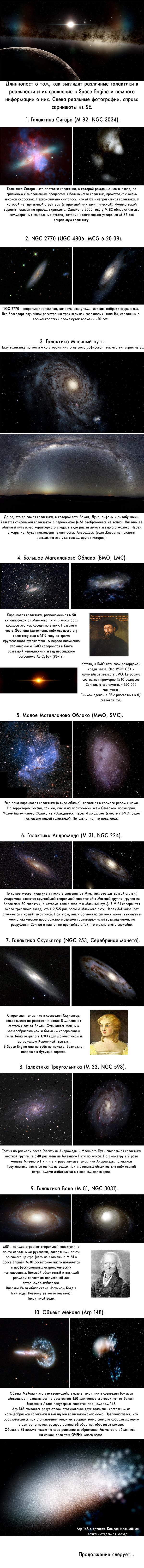 Галактический пост Космос, Галактика, Space Engine, Звёзды, Астроном, Вселенная, Длиннопост
