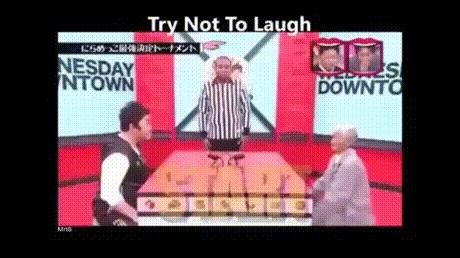 Победа японского дедушки в конкурсе на самую смешную гримасу! Азиаты, Рожа, Мимика, Гримаса, Гифка