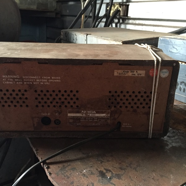 Радиоприемник Nokia Viola 350 Радиоприемник, Nokia, Раритет, Антиквариат