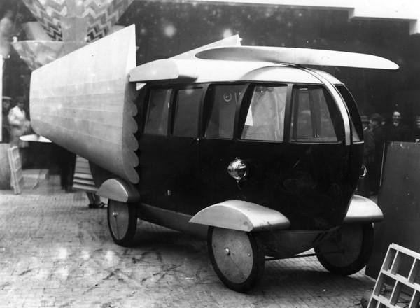 Необычный автомобиль. Путешествие в первую половину 20 века. Авто, Ретро, Длиннопост