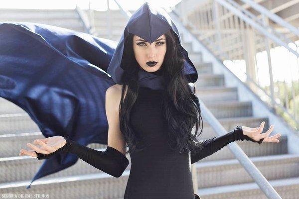 Raven Косплей, Dc comics, Teen Titans, Ворон