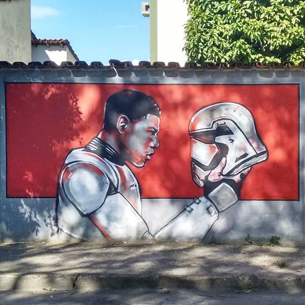 Где-то на улицах Бразилии...