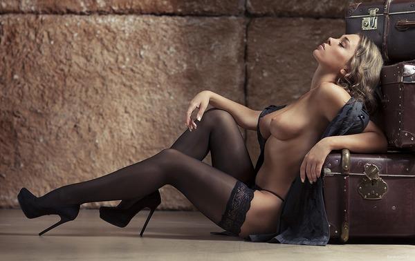 Секси фото чулки
