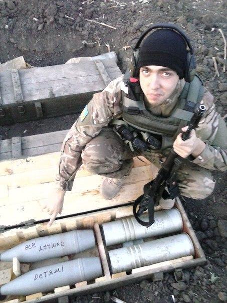 """На фото боец АТО, из полка """"Азов"""". Украина, Политика, Азов, Война, Донбасс, Длиннопост, АТО"""