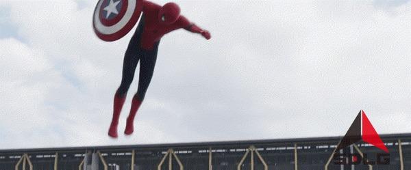 Подозрительность. Уровень: 80 Человек-Паук, Гражданская война, Капитан Америка, Железный человек, Фильмы, Комиксы, Гифка
