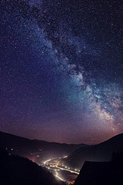 звездное небо красивое картинки