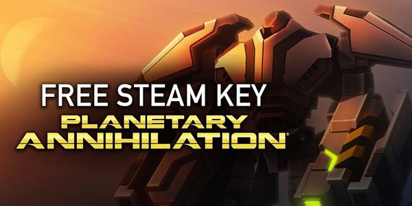 Получаем игру Planetary Annihilation Халява, Steam, Planetary Annihilation, Игры