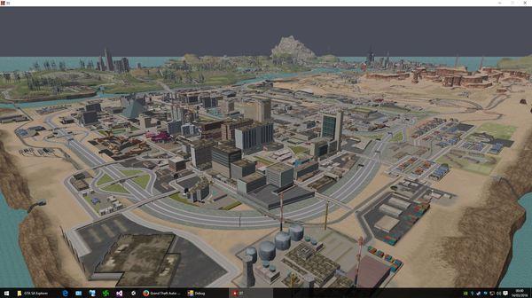 Мир GTA: San Andreas выглядит не таким уж и большим