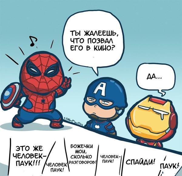 Паук, такой паук...