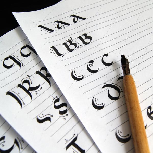 Книги каллиграфия скачать