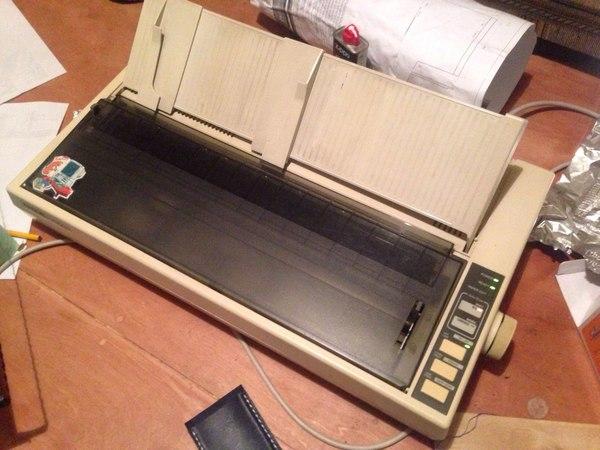 Матричная гравировка матричный принтер, фольга, длиннопост