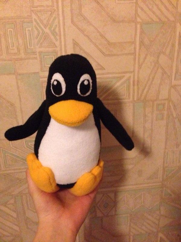 Подарок программисту подарок, программист, пингвины, Своими руками, linux, tux, пингвин tux, длиннопост