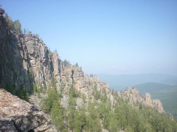 Зубы Шурале - красивые скалы северный склон хребта Караташ