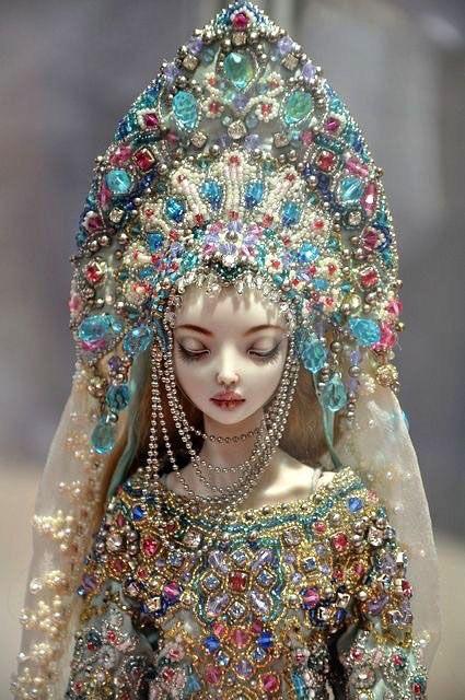 """""""Чарующие куклы"""". Авторская работа Марины Бычковой. Кукла, интересное, статья, длиннопост"""