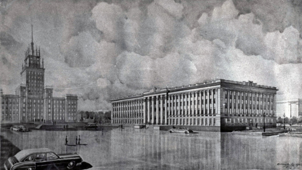 Не построеные сталинские высотки Архитектура, Как могло быть, Длиннопост