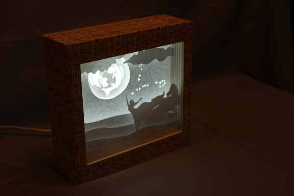 Lightbox, хотя думаю они всех уже достали Paper lightbox, Лайтбокс, Своими руками, Сделай это, Длиннопост