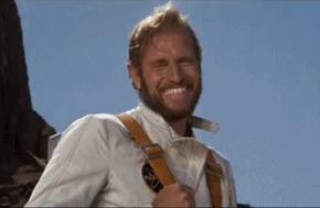 Твоя реакция, когда приятель спрашивает, почему ты всё еще ходишь с бородой после того, как одолжил его триммер. Imgur, Борода, Триммер, Гифка