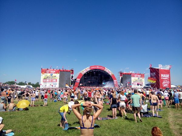 Перебирал фото с фестиваля, решил поделиться хорошей фотографией.