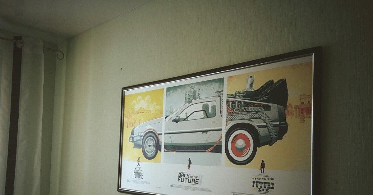 что постеры назад в будущее в рамке популярны шикарны жилетки