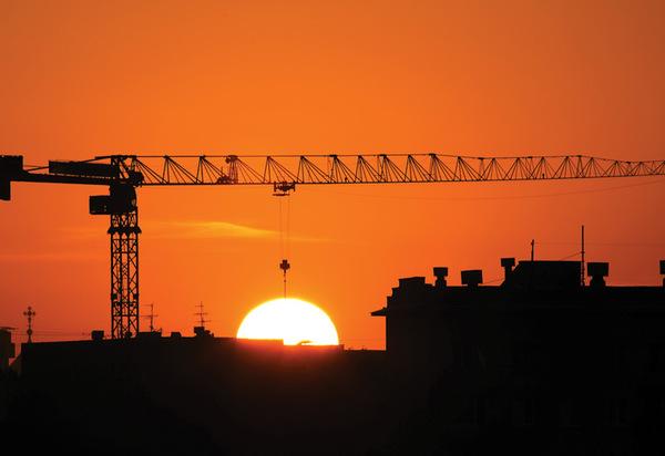 Бригадный подряд: Дневная  смена поднимает солнце на небо Солнце, Небо, Фото