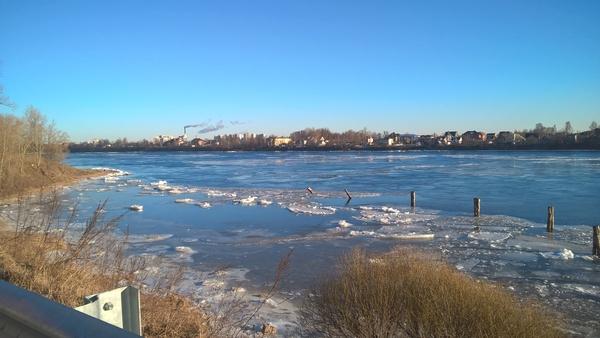 Лед тронулся!)) тег, весна