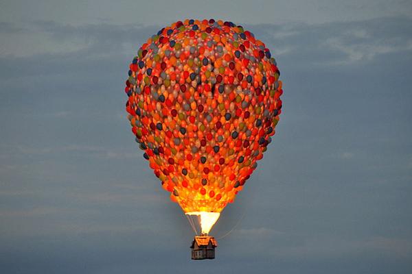 Вверх! Вверх, воздушный шар, pixar, длиннопост