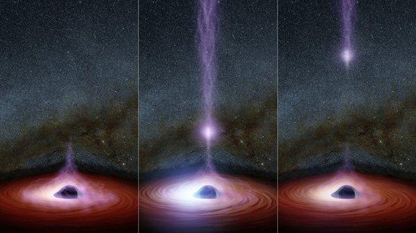 nasa finds black hole - HD1600×900