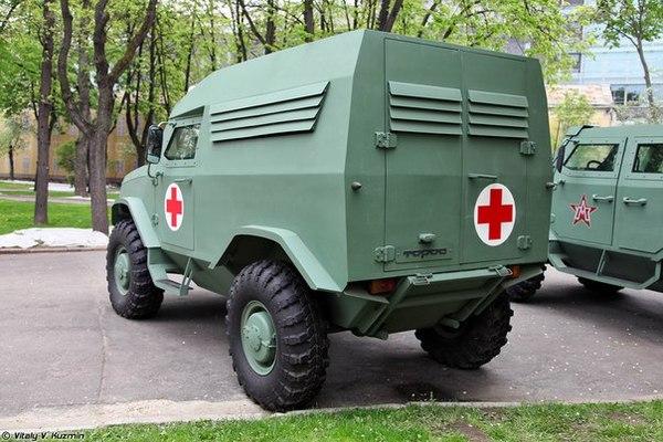 Скорая для пробок Бронеавтомобиль, Скорая помощь, Русская армия, Торос, Длиннопост
