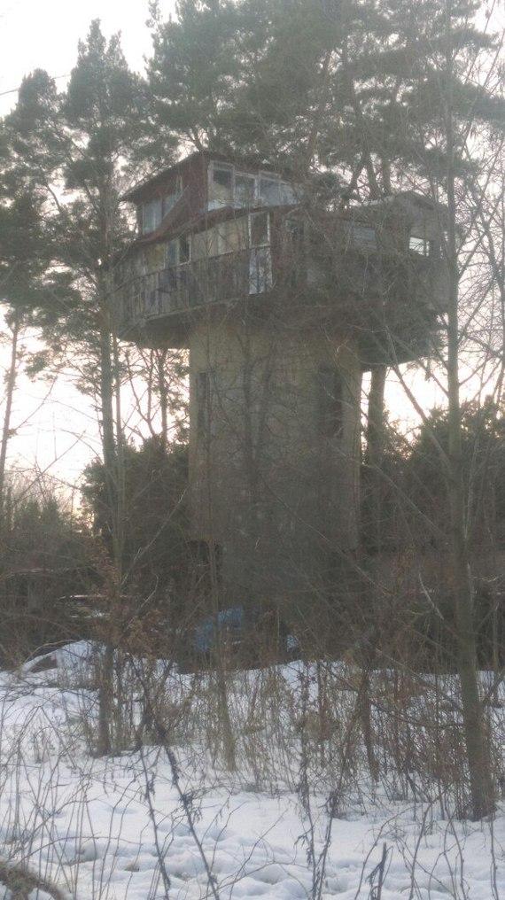 Просто дом на водонапорной башне. Дом, Водонапорная башня, Санкт-Петербург, Красная горка