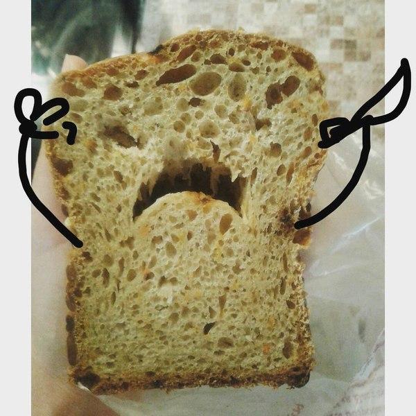 Грозный хлебушек!