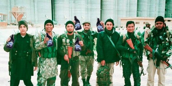 Няшный ИГИЛ Игил, Ласка, Продавцы шавермы