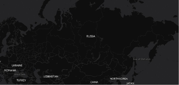 Заселение России созданное по реальным данным реестра ЖКХ по году постойки дома начиная с 1900 г