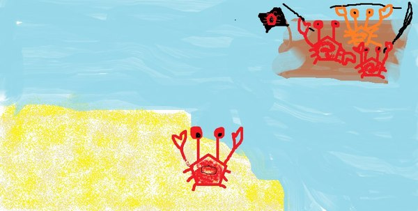 Приключения крабика. 1 сезон. Детство, Краб, Пираты, Йохохо и бутылка рома, Бутылка рома, 5 лет художки