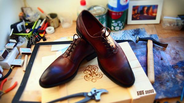 Моя первая пара,пошитая рантовым методом крепления подошвы ручная работа, обувь, туфли, рант, моё, кожа, длиннопост