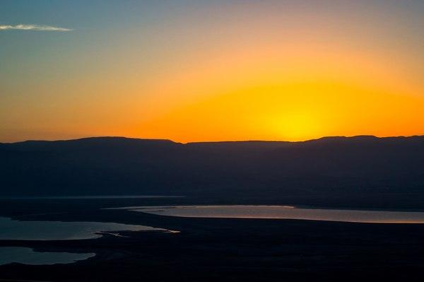 Рассвет в пустыне рассвет, восход, Пустыня, красота, Природа, Фото, израиль, пейзаж, длиннопост