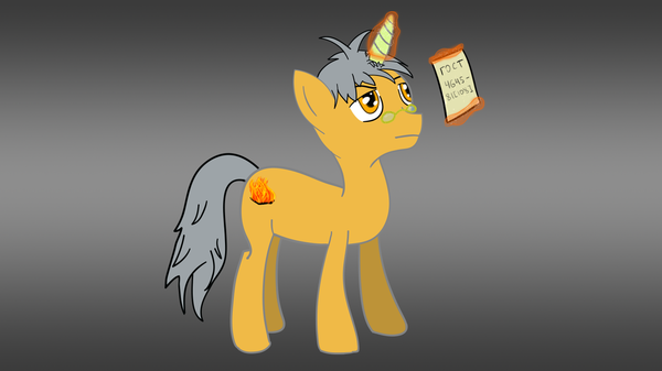 Meet the Ignis Deus My little pony, Original Character