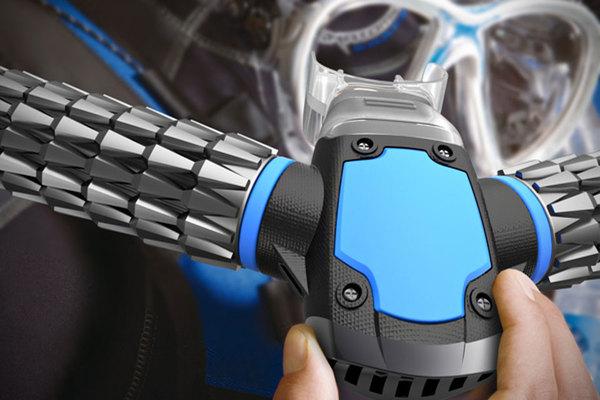Triton - жабры для дайвера Triton, Дайвинг, Акваланг, Изобретения, Kickstarter, Видео, Длиннопост