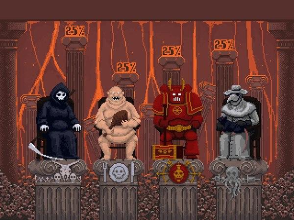 Апокалипсис Инкорпорейтед [из игры] Peace, Смерть, Peacedeath, Pixel art, Gamedev, ПК, Mac