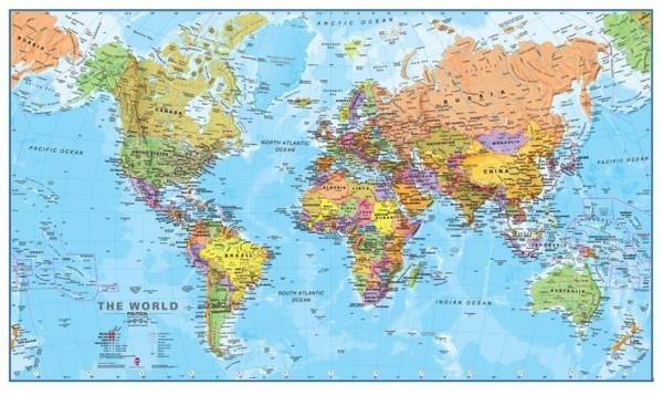 Карты мира из разных стран 1 карта мира, страны, длиннопост