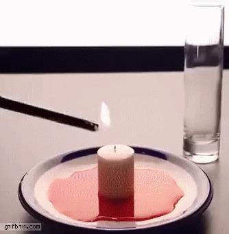Свеча и низкое давление