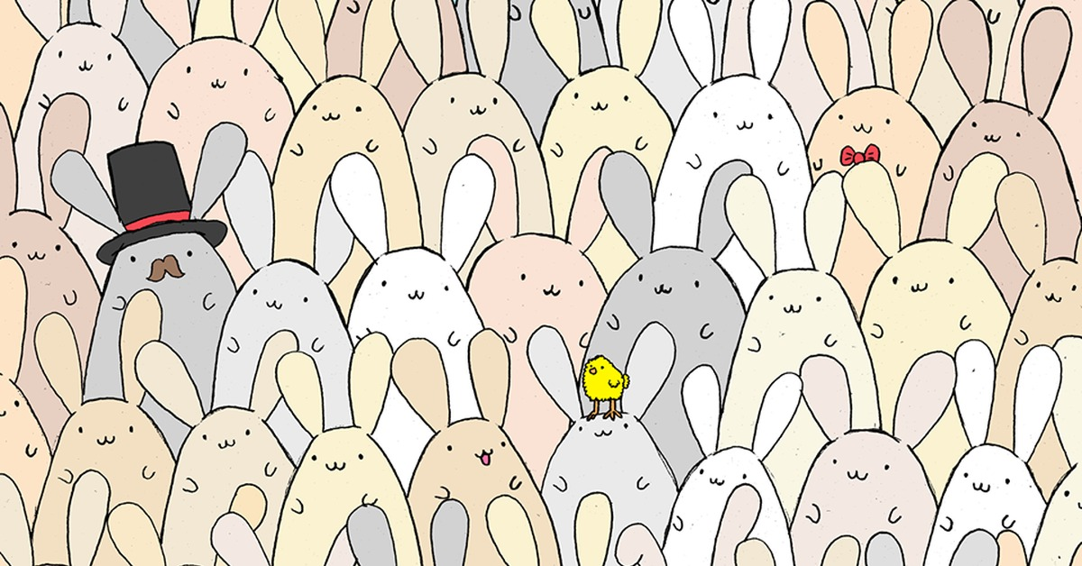 найди зайца на картинке с котами ответ