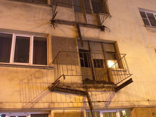 обрушение балкона на молодогвардейцев 32 бельё должно, прежде
