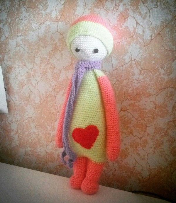 Амигуруми кукла лалилала сова