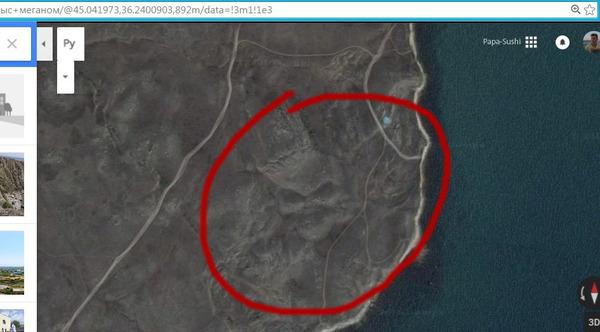Смотрел я значит пляжи Крыма в Google Maps...