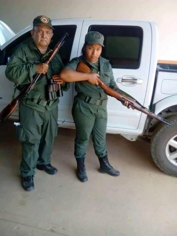 С такими бойцами и враги не нужны... Оружие, Венесуэла, Уго Чавес, Прости, Просрали