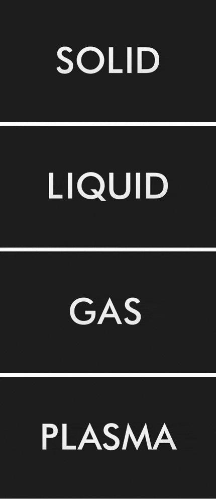 Агрегатные состояния вещества Гифка, Металл, Жидкость, Газ, Плазма, Физика