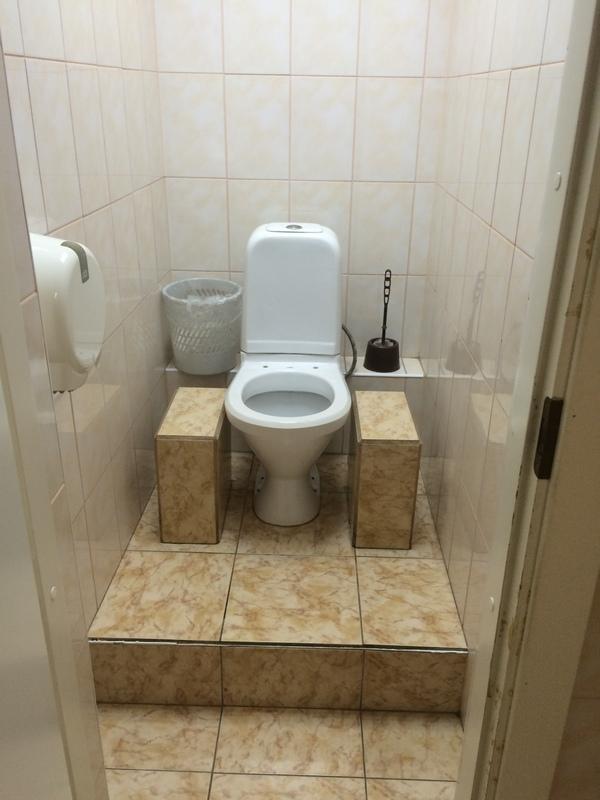 Орлиный трон в одном из БЦ Новосибирска.